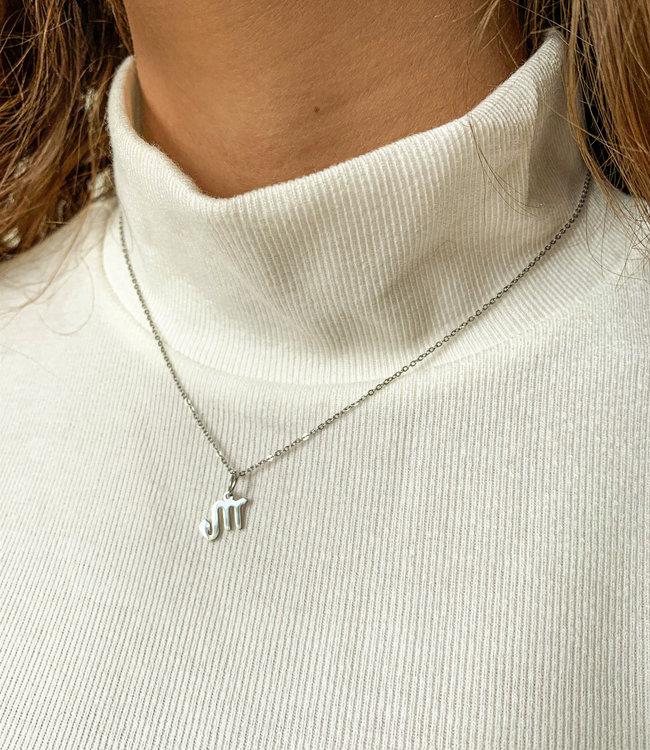 Sterrenbeeld (kiezen) ketting silver