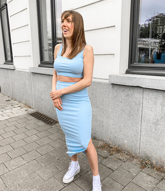 Twin set blue