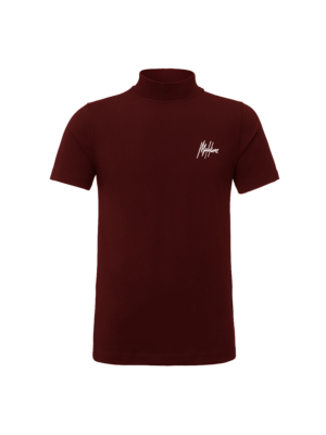 Malelions Turtle Neck Signature - Bordeaux