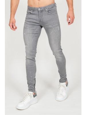 Malelions Jeans Splatter - Grey