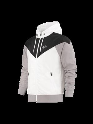 Malelions Sport Windrunner Sport Jacket - Black/White