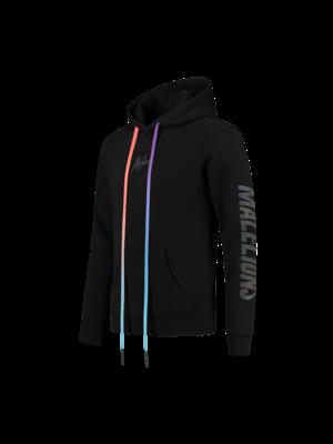 Malelions Hoodie Rainbow Reflective - Black