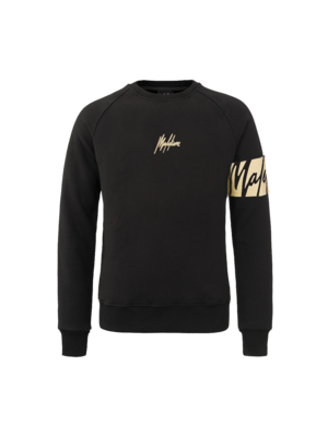 Malelions Crewneck Captain - Black/Gold
