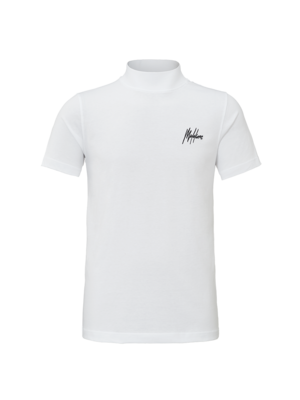 Malelions Turtle Neck Signature - White