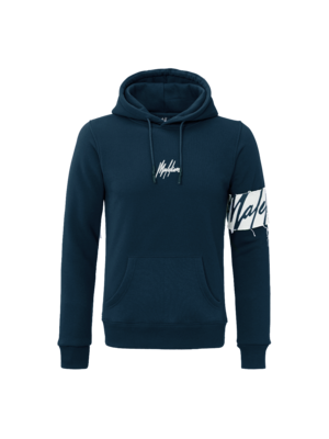 Malelions Captain Hoodie - Navy/Off-White