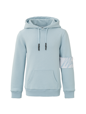 Malelions Junior Junior Captain Hoodie - Light Blue