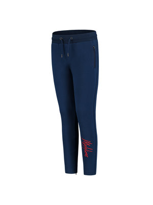 Malelions Junior Junior Trackpants Signature - Navy/Koraal