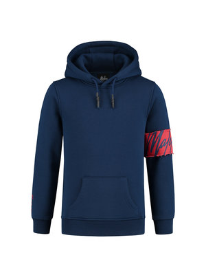 Malelions Junior Junior Captain Hoodie - Navy/Koraal