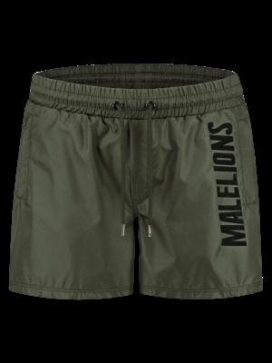 Malelions Swimshort Nium - Army