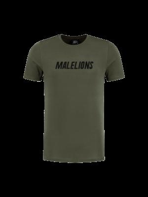 Malelions T-shirt Nium - Army