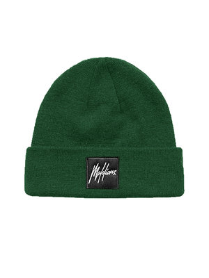 Malelions Junior Junior Beanie Patch - Army