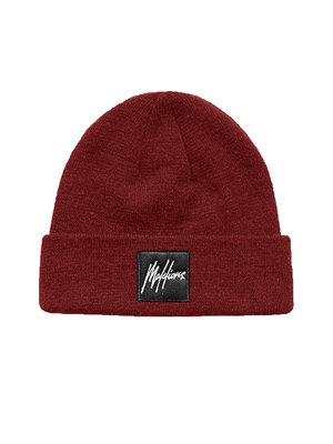Malelions Junior Junior Beanie Patch - Bordeaux