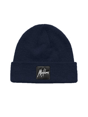 Malelions Junior Junior Beanie Patch - Navy