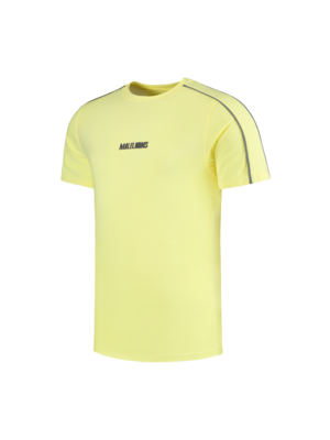 Malelions Thies T-shirt - Yellow/Matt Grey