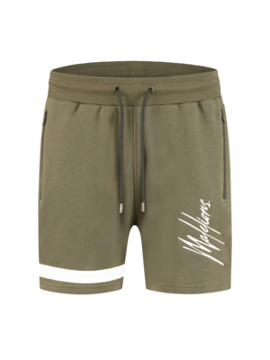 Malelions Short Pablo 2.0 – Army/White