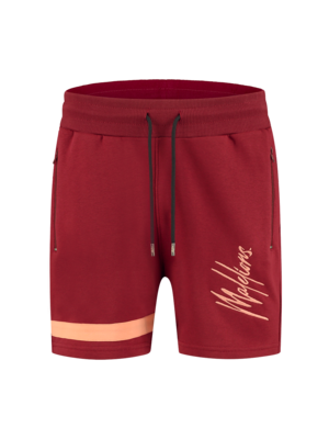 Malelions Short Pablo 2.0 – Bordeaux/Koral