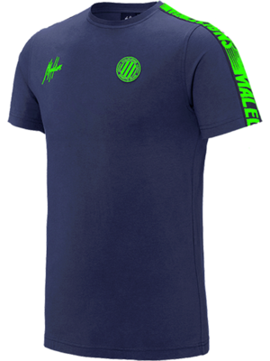 Malelions Sport T-Shirt Home kit Sport - Navy/Green