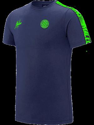 Malelions Sport T-Shirt Home kit Sport - Navy/Green