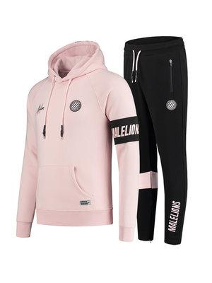 Malelions Sport Sport Captain Tracksuit - Black/Pink
