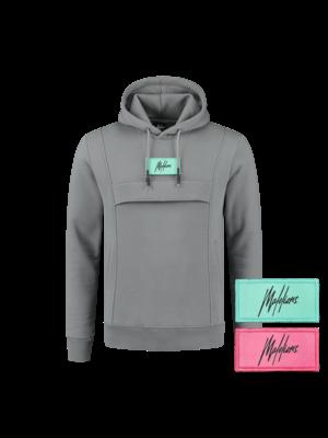 Malelions Velcro Anorak - Matte Grey