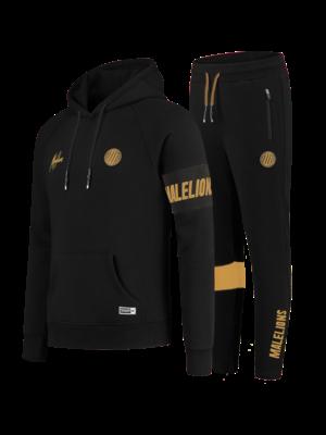 Malelions Sport Sport Captain Tracksuit - Black/Gold