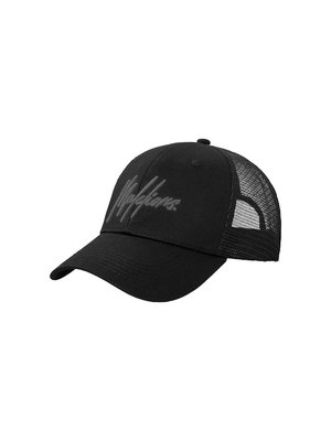 Malelions Junior Junior Signature Cap - Black/Black