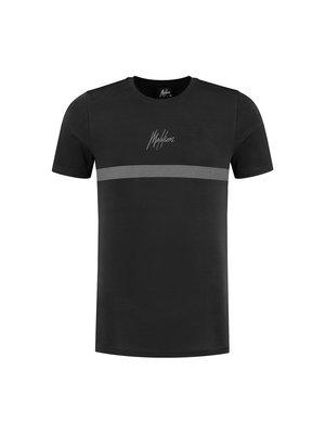 Malelions Tonny T-Shirt 2.0 - Black/Black