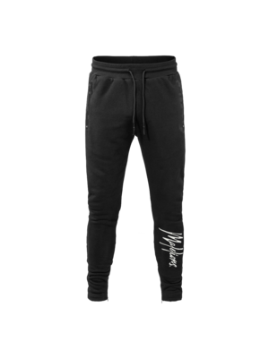Malelions Trackpants Signature - Black/Offwhite