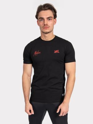 Malelions // XXL Nutrition Malelions // XXL Nutrition T-Shirt - Black/Red