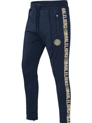 Malelions Sport Sport Trackpants Warming Up - Navy/Gold