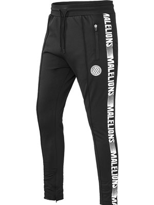 Malelions Sport Sport Trackpants Warming Up - Black/White
