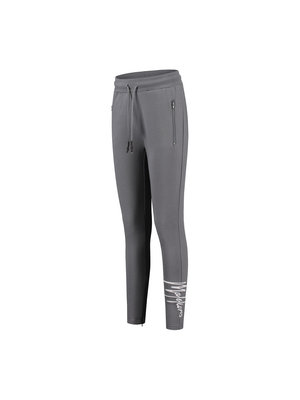Malelions Women Women Signature Trackpants - Matt Grey/White