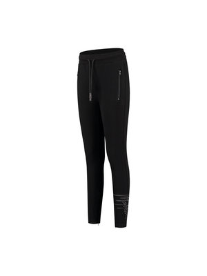 Malelions Women Women Signature Trackpants - Black/Antra