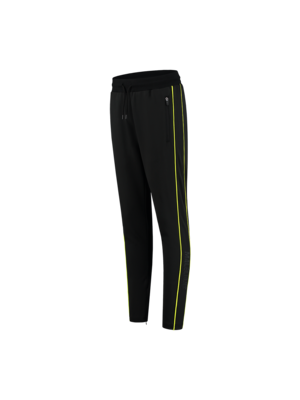 Malelions Sport Sport Uraenium Trackpants - Black/Neon Yellow