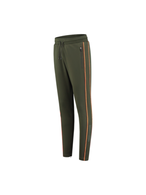 Malelions Sport Sport Uraenium Trackpants - Army/Neon Orange