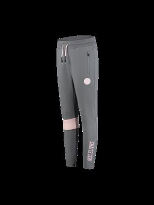 Malelions Sport Sport Captain Trackpants - Matt Grey/Pink