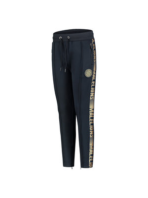 Malelions Junior Junior Sport Warming up Trackpants - Navy/Gold