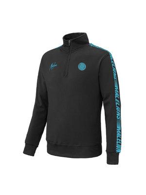 Malelions Sport Sport Quarterzip - Black/Blue