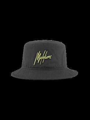 Malelions Bucket Hat - Matt Grey/Yellow