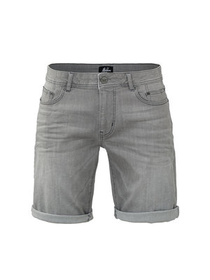 Malelions Penne Denim Short - Light Grey