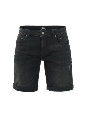 Malelions Penne Denim Short - Black
