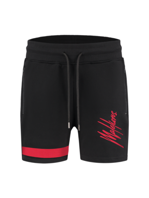 Malelions Junior Junior Pablo Trackshort - Black/Red