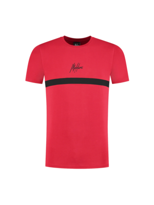 Malelions Junior Junior Tonny T-shirt - Red/Black