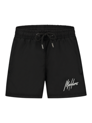 Malelions Junior Junior Francisco Swimshort - Black/Glow In The Dark