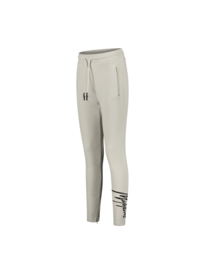 Malelions Women Women Signature Trackpants - Beige/Black