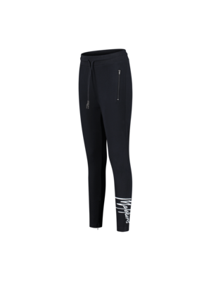Malelions Women Women Signature Trackpants - Navy/Light Blue