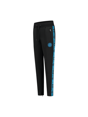 Malelions Junior Junior Sport Warming Up Trackpants - Black/Blue