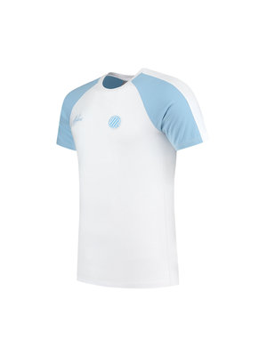 Malelions Sport Sport Striker T-Shirt -Light Blue/White