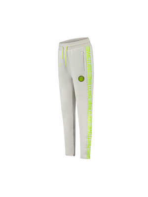 Malelions Sport Sport Striker Trackpants - Grey/Lime