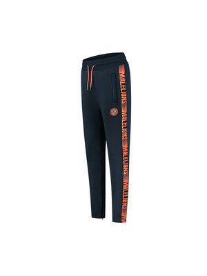 Malelions Sport Sport Striker Trackpants - Navy/Salmon